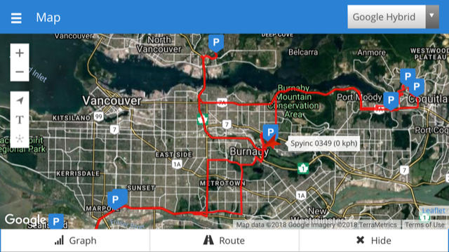 GPS Tracking Devices on cell phones