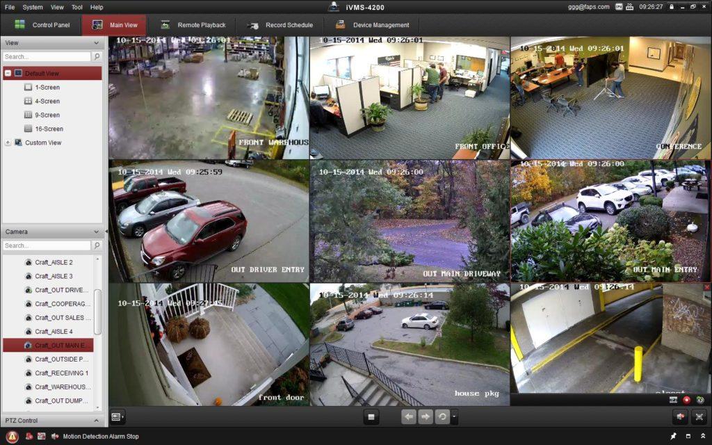 IP Cameras Remote Viewing