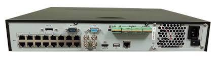16 Channel NVR for CCTV Cameras