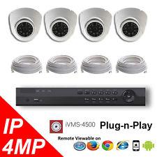 4 channel HD Surveillance Cameras