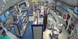 CCTV cameras in retail locations