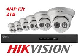 HIk 8 Channel IP Camera Packages