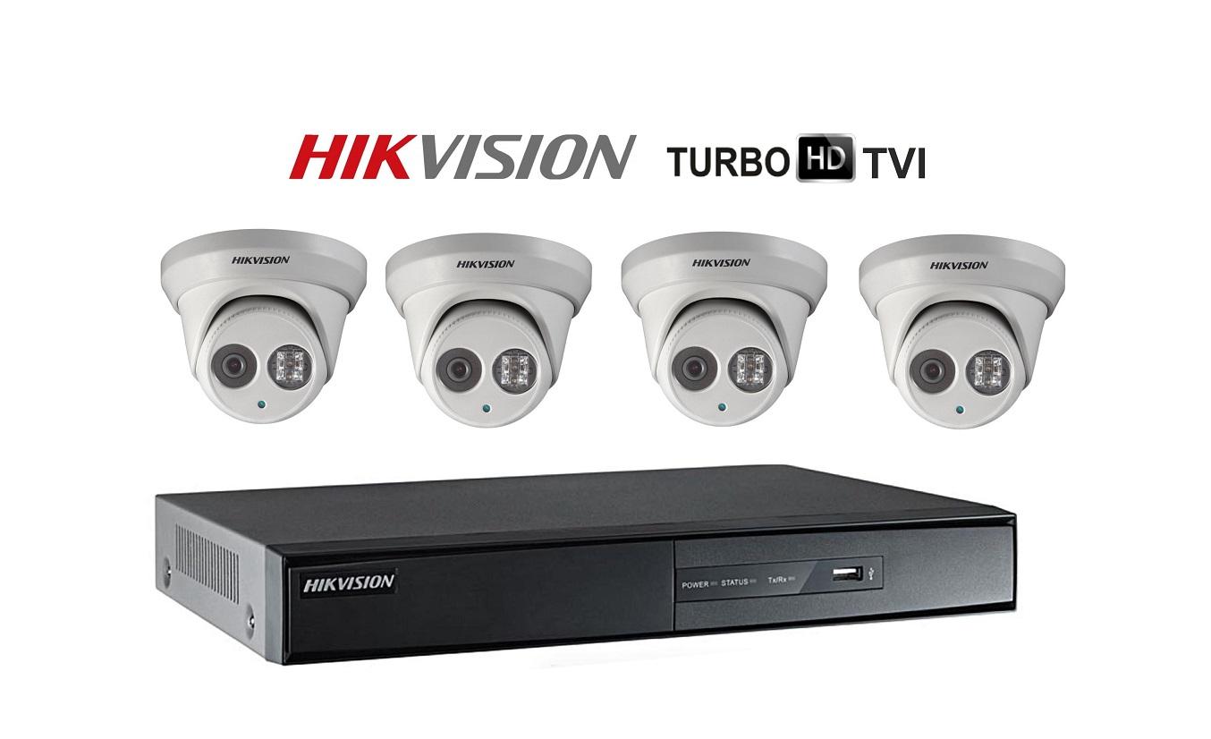 HIK surveillance cameras