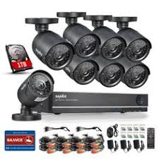8 channel surveillance cameras package