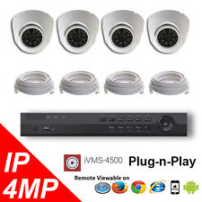4 channel HD Surveillance Cameras