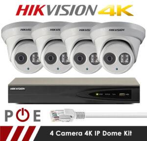 Hikvision 4K Camera Kit
